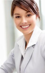 female executive hiring manager